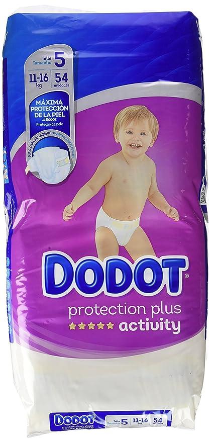 Dodot Activity - Pañales, talla 5, 54 unidades
