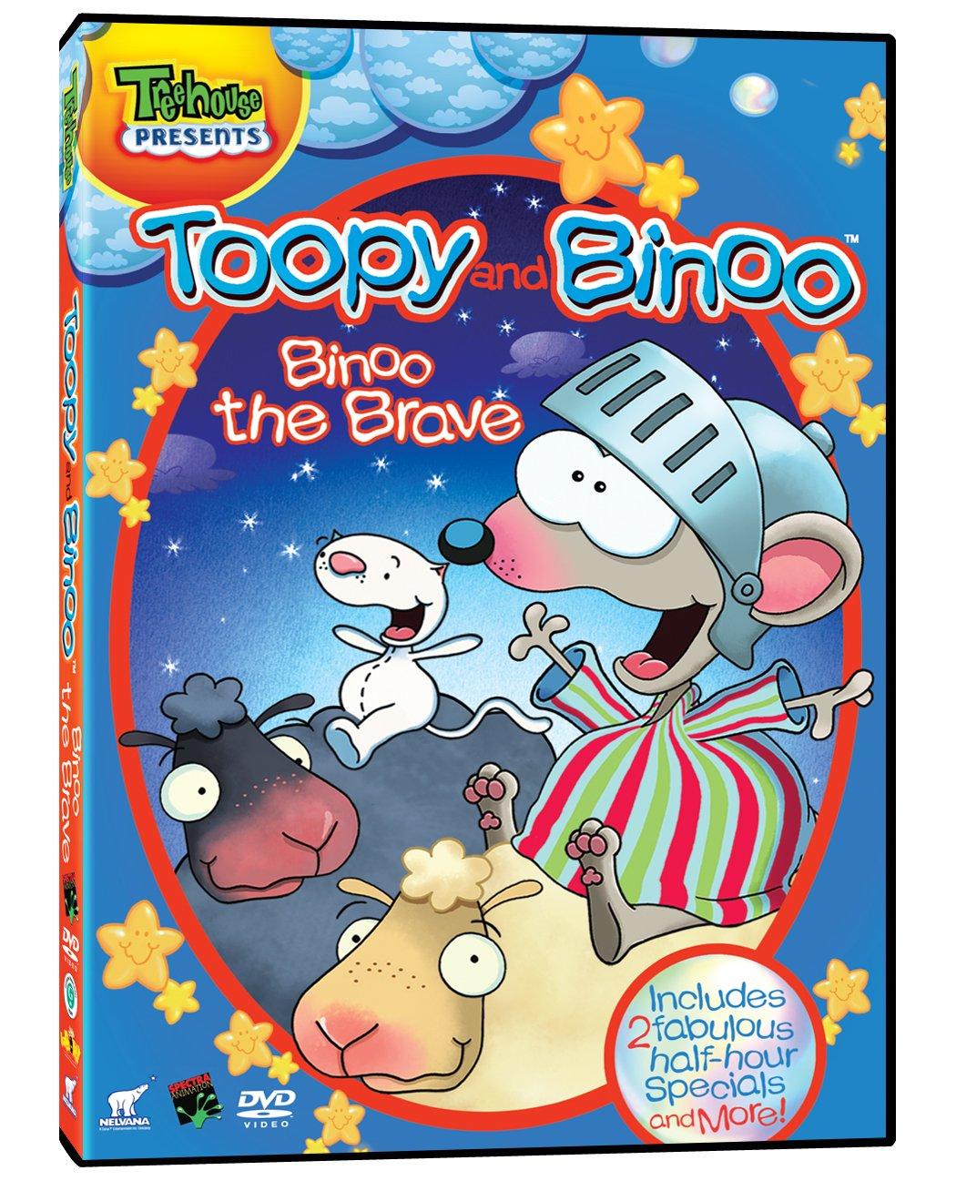 toopy and binoo binoo the brave bilingual amazon ca dvd