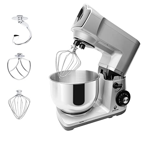 Amazon.Com: Posame Stand Mixer 500W 5-Qt 6-Speed Tilt-Head Stoving