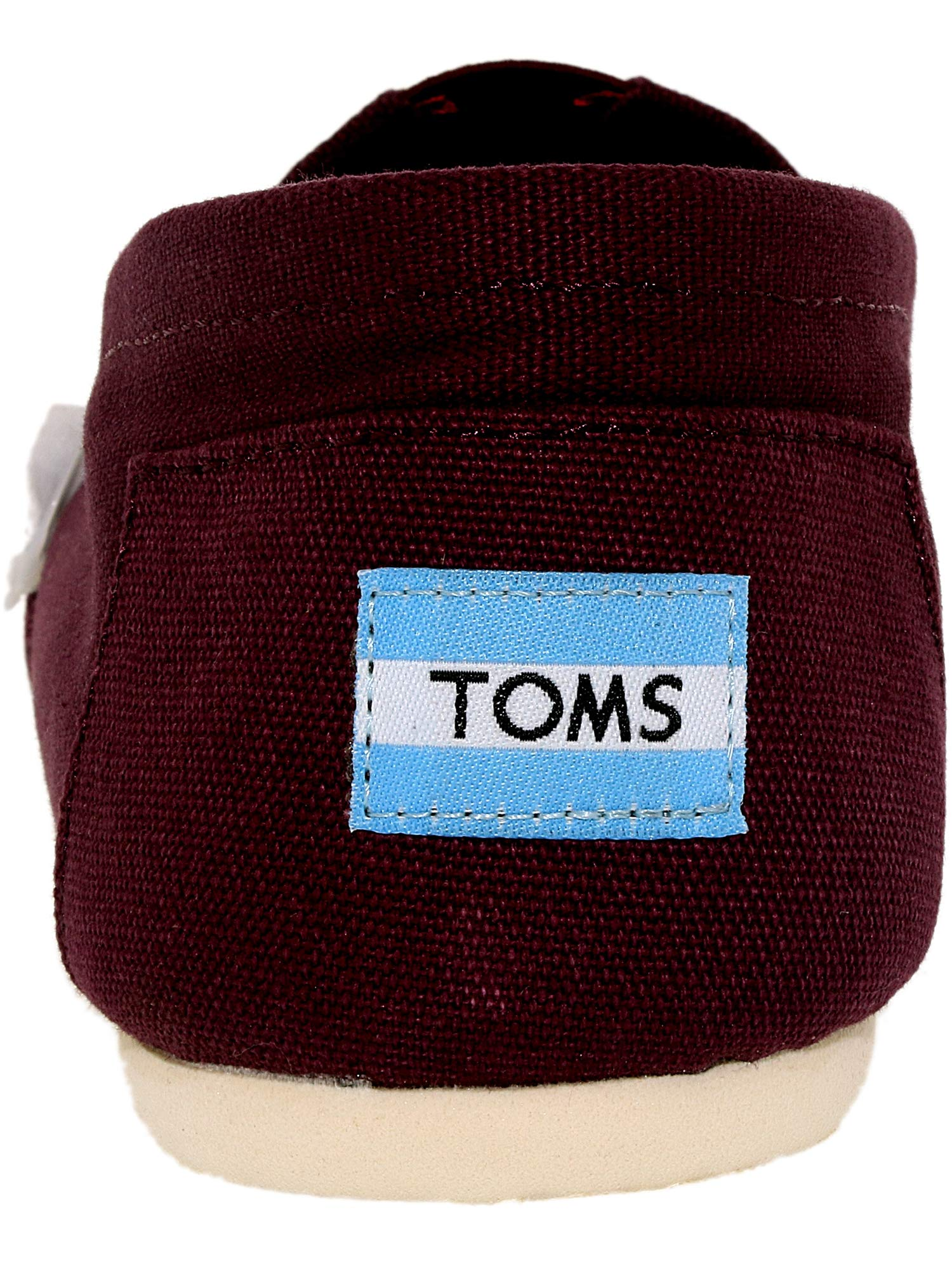 TOMS Men's Classic Canvas Slip-On, Red Mahogany Canvas - 11.5 D(M) US by TOMS (Image #4)