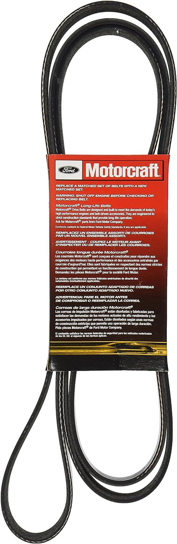 Motorcraft JK4368 V-Ribbed Belt JK4368-MTR