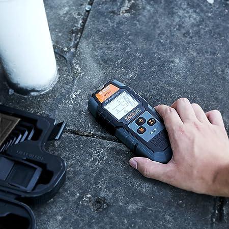 Tacklife - DMS03 Detector de metales de pared clásico, escáner portátil multifunción, para cables eléctricos y metal magnético o no magnético, ...