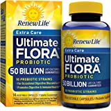 Renew Life Extra Care Probiotic, Ultimate Flora, 50 Billion, 14 Capsules