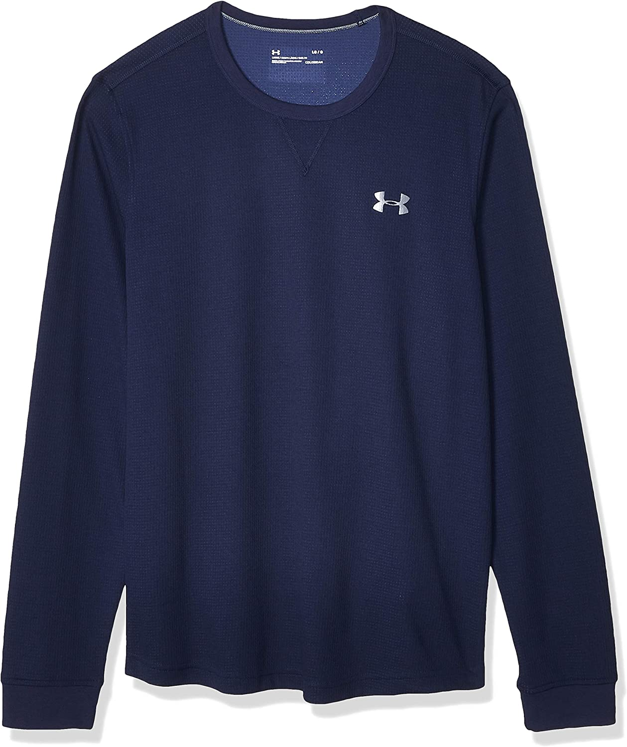 Under Armour Men Ua Waffle Long Sleeve Crew
