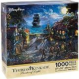 """Disney Parks Exclusive Thomas Kinkade Pirates of Caribbean 27""""x20"""" 1000 Pc. Puzzle"""