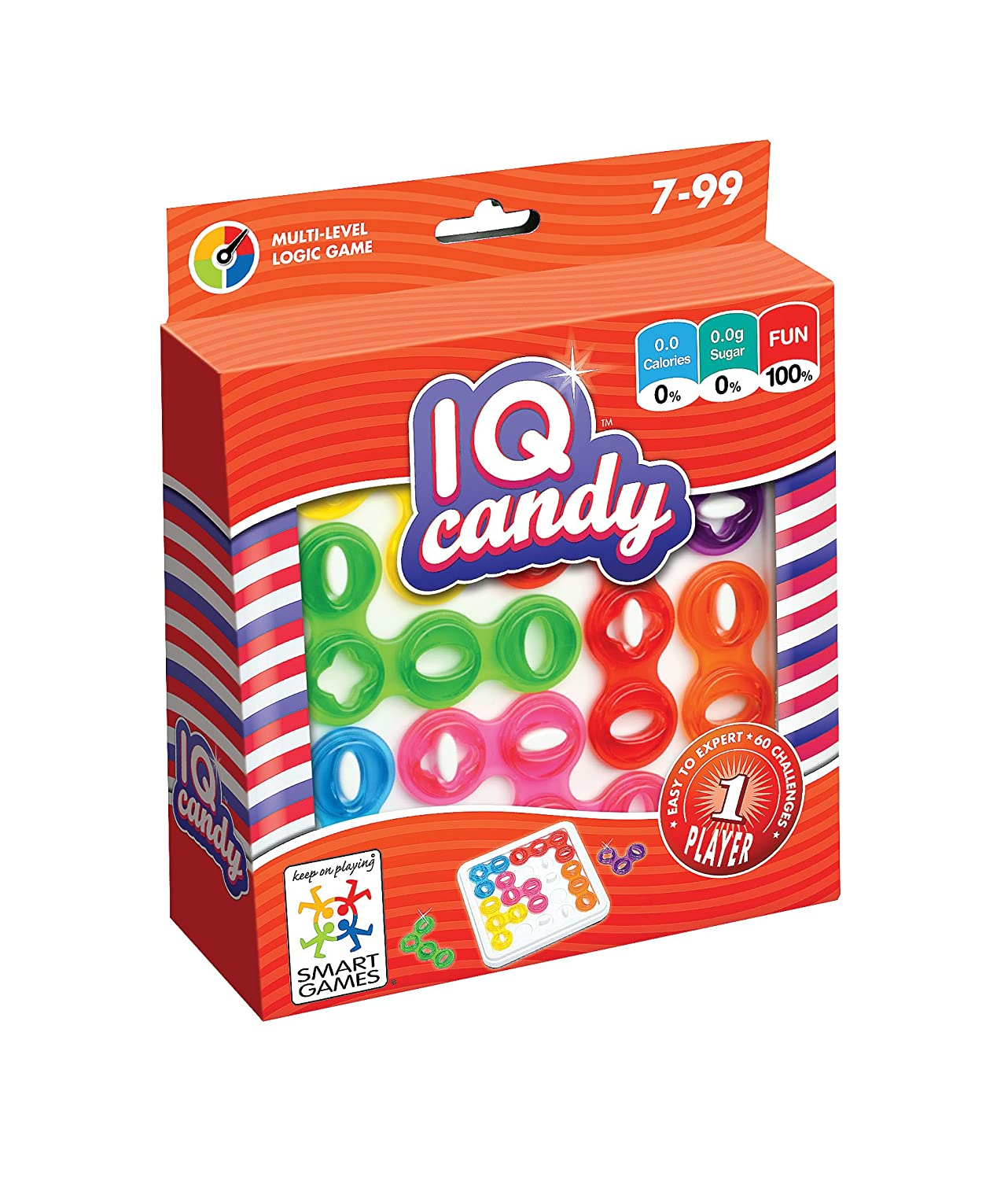 Smart Games nbsp;– IQ Candy, Lernspiel, Lúdilo SG485, eventuell nicht in deutscher Sprache Lúdilo 517962