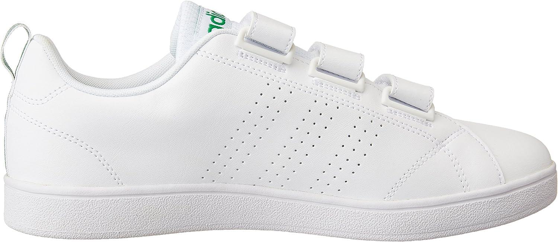 Adidas Herren Vs Advantage Clean Low-Top Varios Colores Blanco Ftwbla Ftwbla Verde