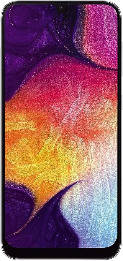 Samsung Galaxy A50 (White, 6GB RAM, 64GB Storage) with No Cost EMI/Additional Exchange Offers