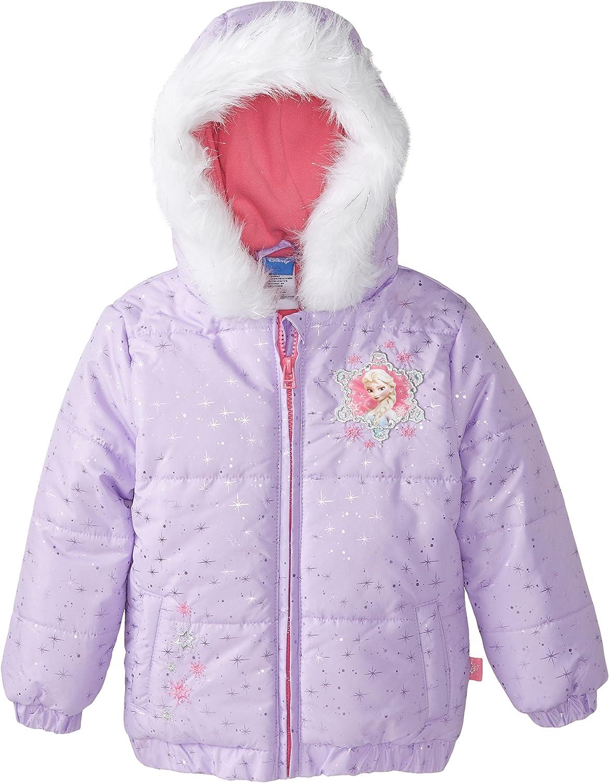 Disney Girls' Frozen Jacket: Clothing