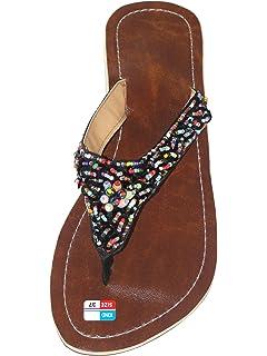 Damen Flip Sandale Fiesta Zehentrenner Zehenpantolette mwAisAwi9V