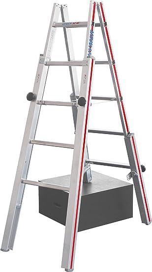 Hymer Doble de Pie Escalera, escaleras, Altura 1,95 m: Amazon.es: Juguetes y juegos