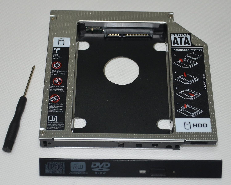 dy-tech 2 nd SATA Disco Duro HD disco duro SSD Caddy para Sony ...