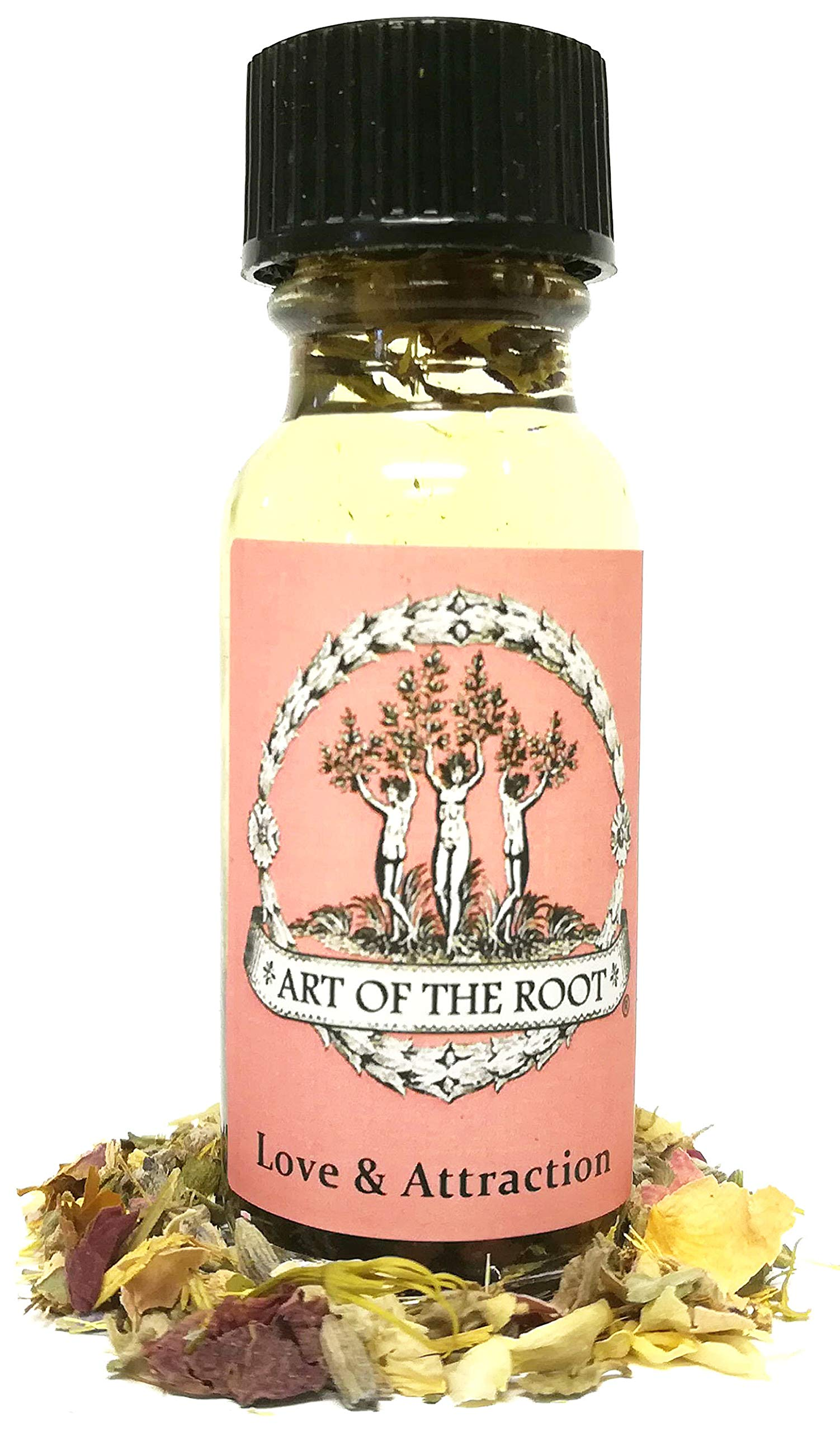 Love & Attaction Oil 1/2 oz for Romance, Commitment, Marriage & PassionHoodoo Voodoo Wicca Pagan