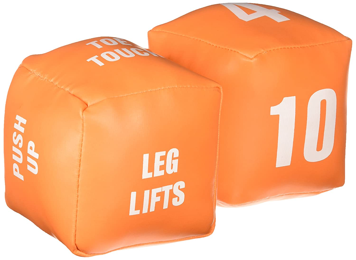 American Educational Products Cubes with Actions Numbers Fitness Dice Set of 2