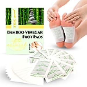 Amazon.com: Almohadillas 2 en 1 para pies de aroma de bambú ...