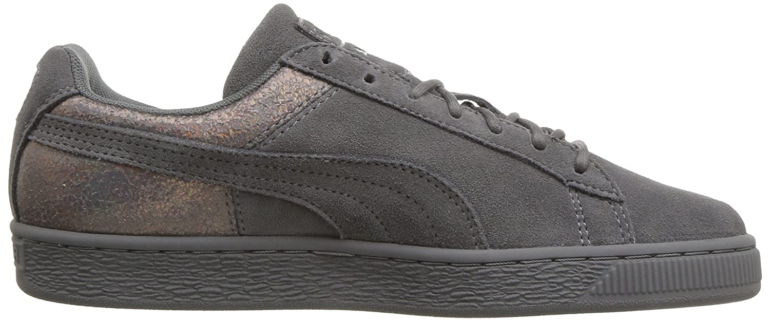 PUMA Women's Suede Lunalux WN's Sneaker B075RDXY2G 10 B(M) US|Smoked Pearl