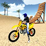 Motocross Beach Jumping 3D - Motorcycle Stunt Game