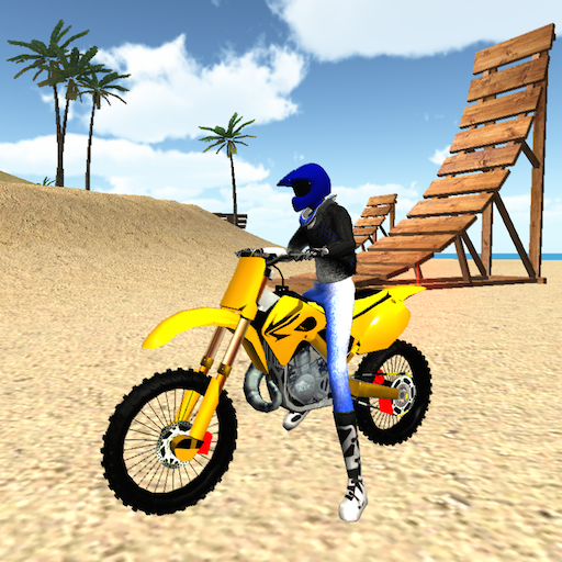 (Motocross Beach Jumping 3D - Motorcycle Stunt Game)