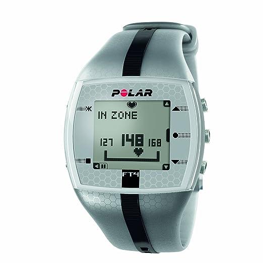 Amazon.com: Monitor de frecuencia cardíaca Polar FT4 ...