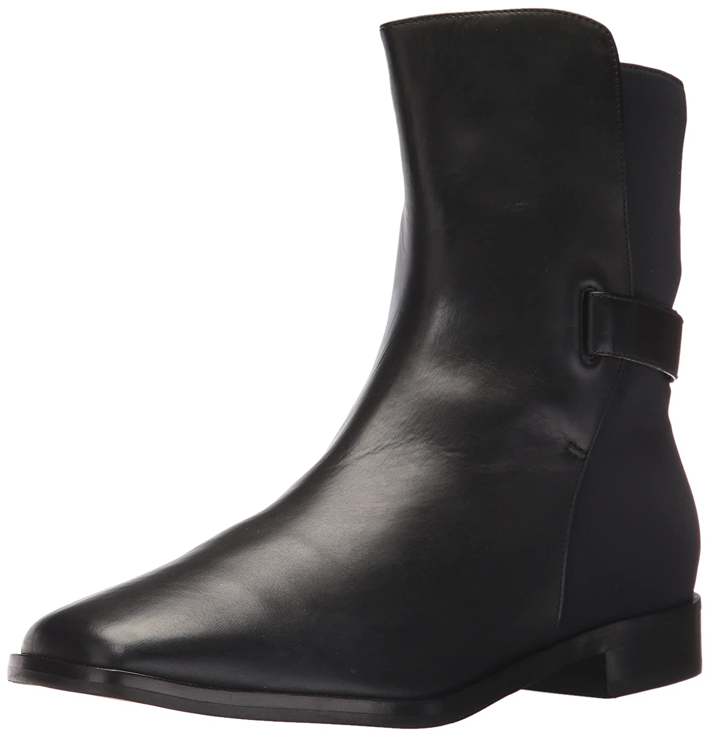 Via Spiga Women's Vaughan B(M) Ankle Boot B06XGTMR48 8.5 B(M) Vaughan US|Black Leather 63068b