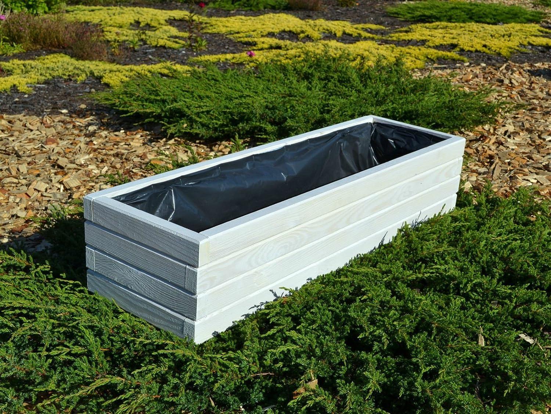 Jardinera de madera para flores alta calidad KENA D-2