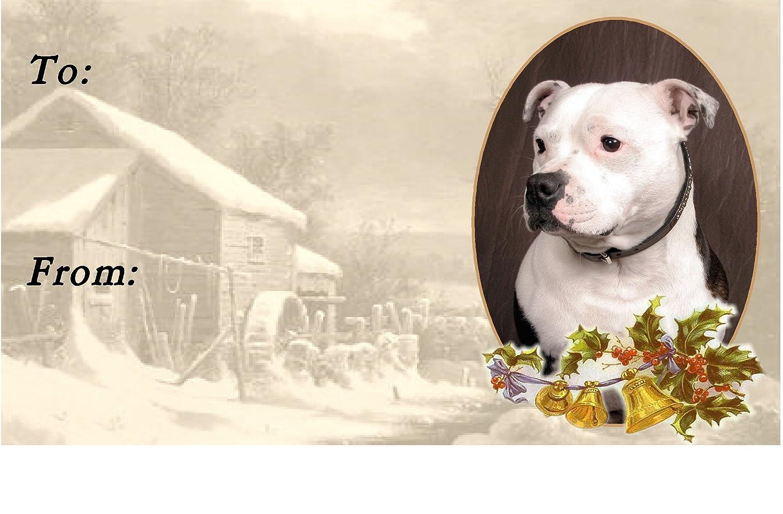 Staffordshire Bull Terrier Fridge Magnet 7 Starprint