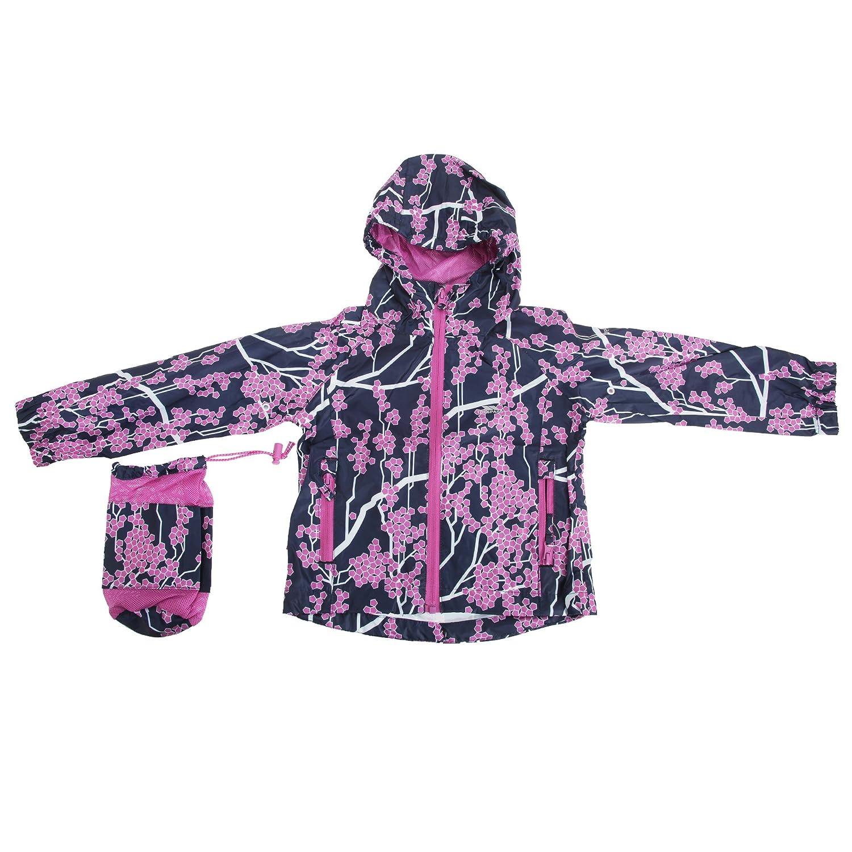 Trespass Childrens Girls Inez Waterproof Packaway Jacket UTTP2862_4