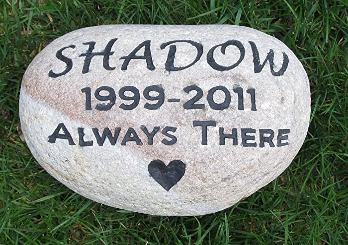 amazon com personalized pet memorial stone pet memorial pet