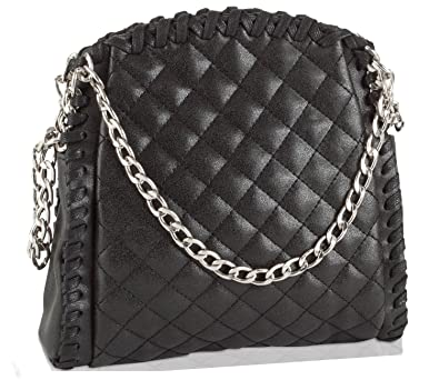 599c1673edf Amazon.com  Steve Madden Women s Btartt Quilted Crossbody Bag ...