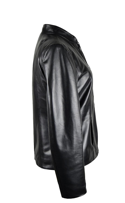 Zerimar Chaqueta Mujer | Cazadora Mujer Piel de Cordero Natural Premium | Cazadora Mujer | Cazadora Cuero | Chaqueta Cuero | Cazadora Piel: Amazon.es: Ropa ...