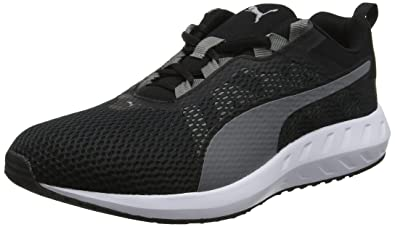 f895fa6a339d Puma Men s Flare 2 Black and Quiet Shade Running Shoes - 11 UK India ...