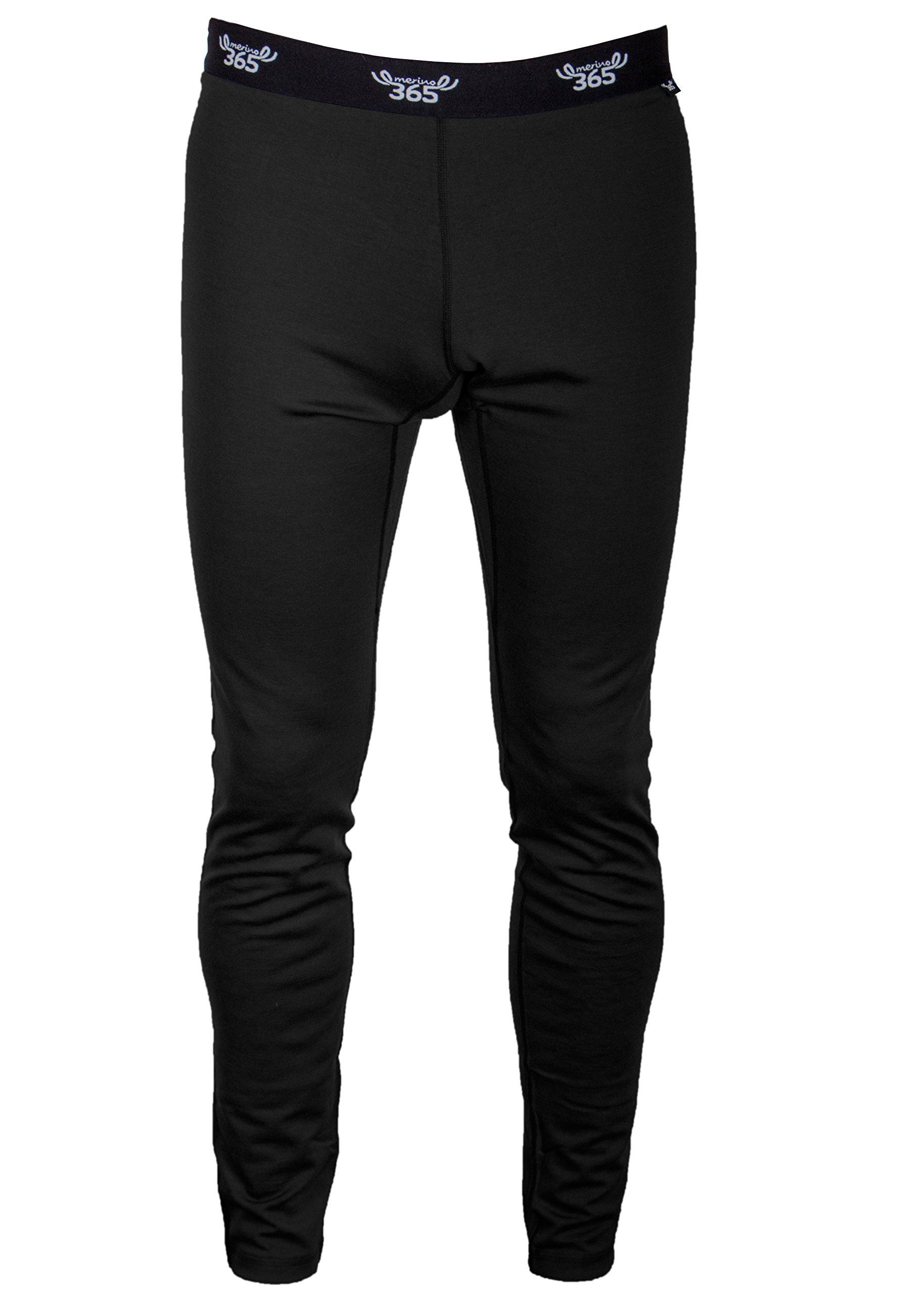 Merino 365 Men's Slim Pant, Medium, Black