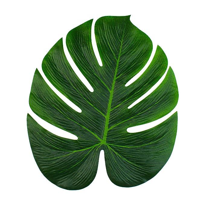 Super Z Outlet Tropical Imitation Green Plant Paper Leaves 13