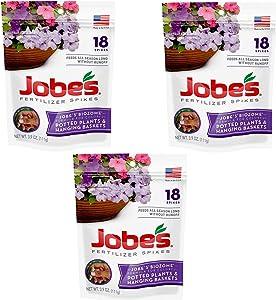 Jobe's Fertilizer Spikes for Flowering Plants (54 Spikes)