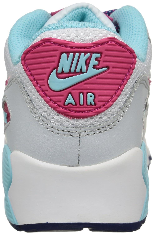 newest e1169 a079f Nike, Men, air max 90 mesh (ps), Multi (White Vivid Pink-copa-pr Pltnm),  13, 5  Amazon.co.uk  Shoes   Bags
