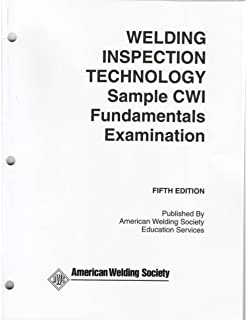 Welding inspection technology fourth edition 2000 by american welding inspection technology sample cwi fundamentals examination welding inspection sample cwi fundamentals examinations fifth edition fandeluxe Choice Image