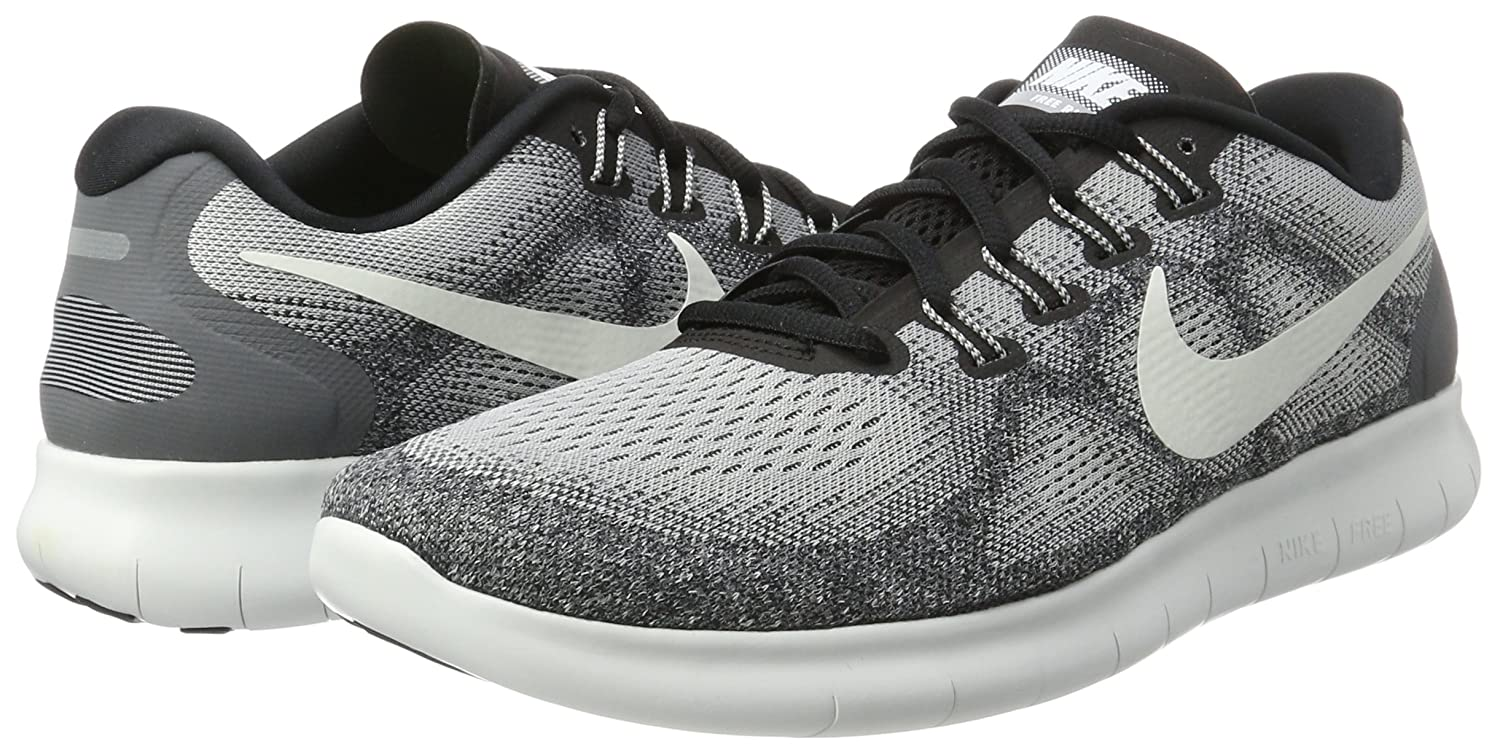 NIKE Men's Free RN Running Shoe B01JZQQQMA 10 D(M) US|Wolf Grey/Off White-pure