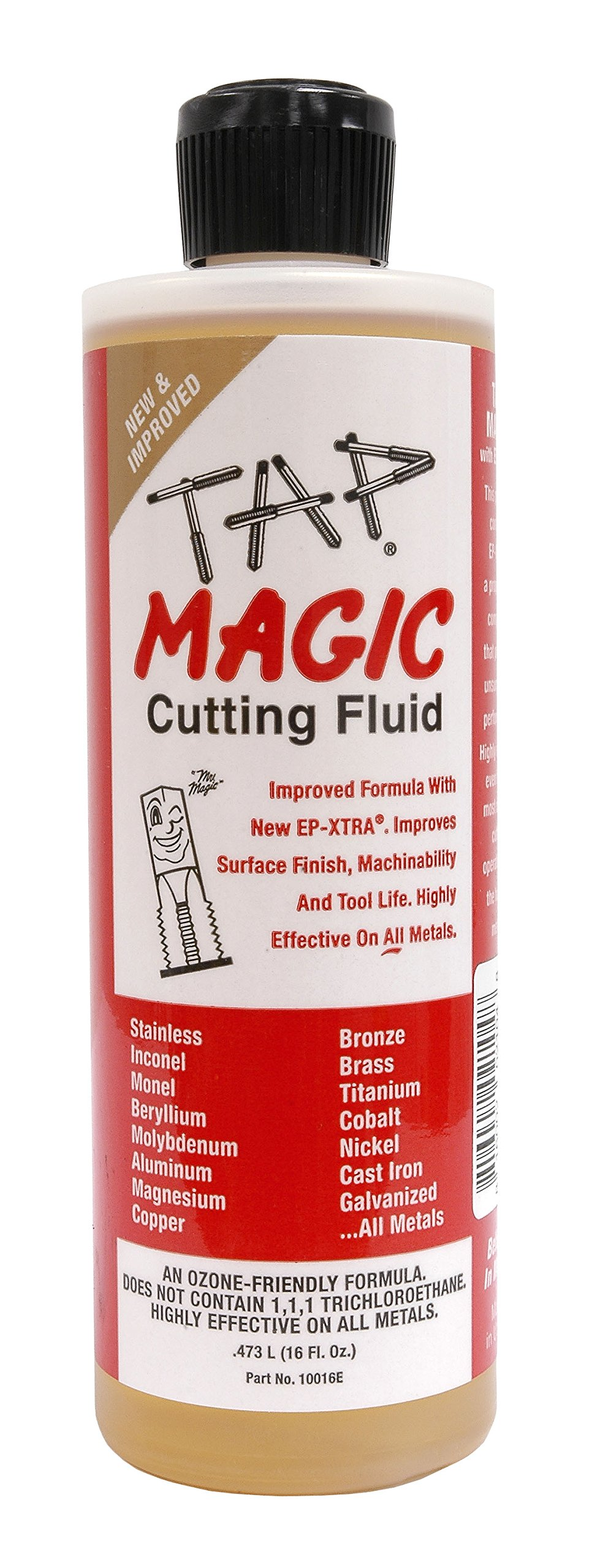 Hot Max 27051 Tap Magic Cutting Fluid, 16 oz.