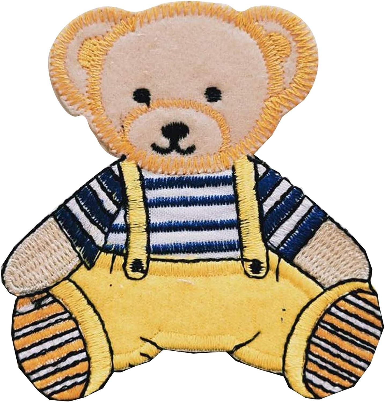 Parches bordados de oso de peluche, para coser, para cosplay ...