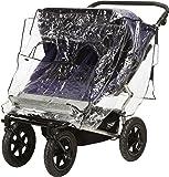 Playshoes 448962universal cubierta impermeable, protección contra la lluvia, de lluvia para Zwilling Buggy/Tandem carro con ventana de contacto