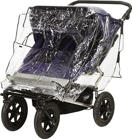 Playshoes 448962 universal cubierta impermeable, protección contra la lluvia, de lluvia para Zwilling Buggy