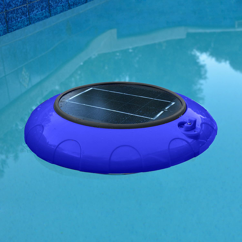 Floating pool lights on pinterest solar pool lights backyard pool - Amazon Com Blue Wave Na4193 Evolution Floating Led Solar Pool Light Patio Lawn Garden