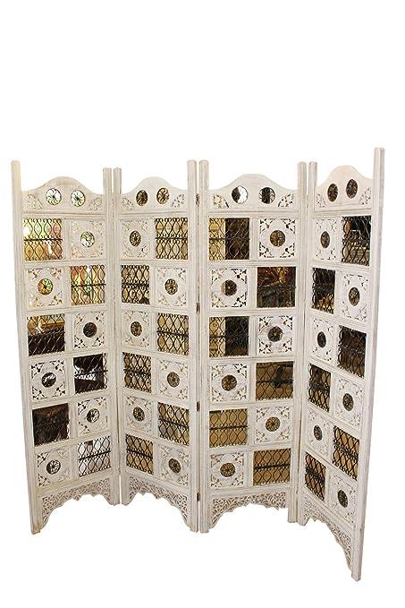 Remarkable Amazon Com Mogul Interior Vintage India Rosewood 4 Panel Interior Design Ideas Tzicisoteloinfo