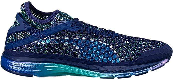 ab0b55cc859 Puma Speed Ignite Netfit Champs Mens Running Shoes - Blue  Amazon.co.uk   Sports   Outdoors