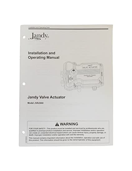 Amazon.com : Jandy JVA244 Valve Actuator Installation ... on