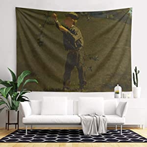 LunchBaggg Winslow Homer 1866 Green Apples 82x60inch Tapestry Bedspread Fun Mural Decoration