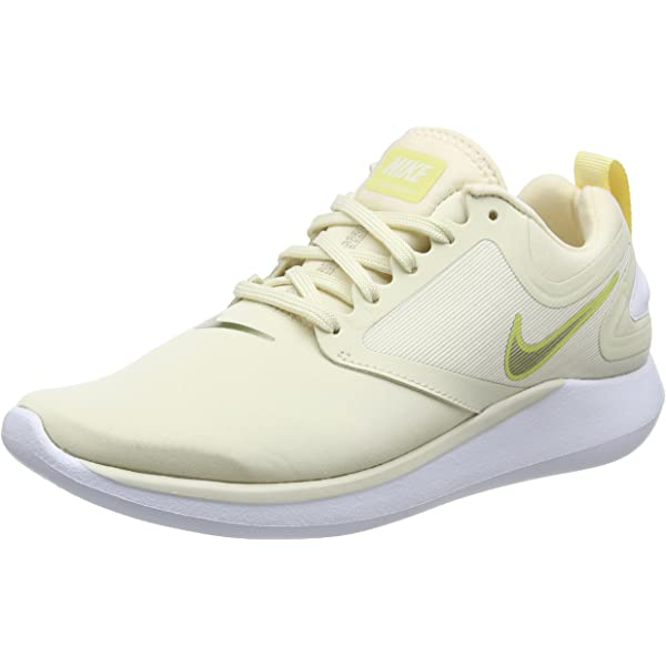Nike Wmns LunarSolo Women Light Cream Metallic Gold Star Running Shoe AA4080-202