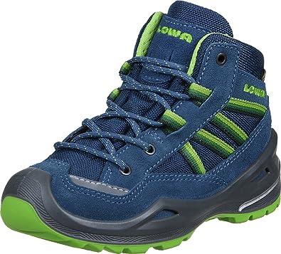 Lowa Simon II GTX QC Junior - Zapatillas para niño, color azul marino y verde, color Azul, talla 32: Amazon.es: Zapatos y complementos