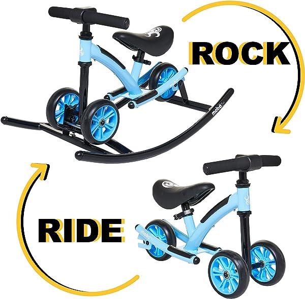 Mobo Wobo 2-in-1 Rocking Kids' Balance Bike