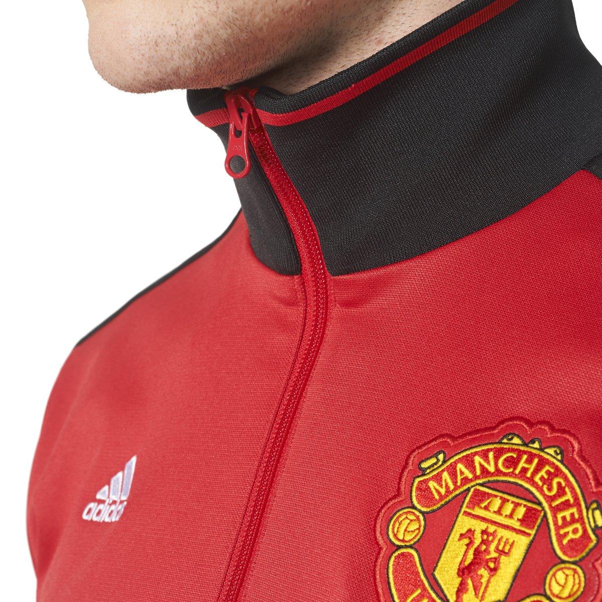 89a897efeb427 Amazon.com: adidas Men's Manchester United 3-Stripes Track Jacket (X ...
